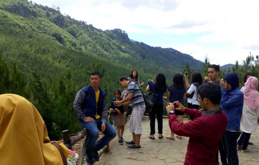 Obyek Wisata Lodge Maribaya Dipadati Pengunjung Website Resmi Kab Bandung