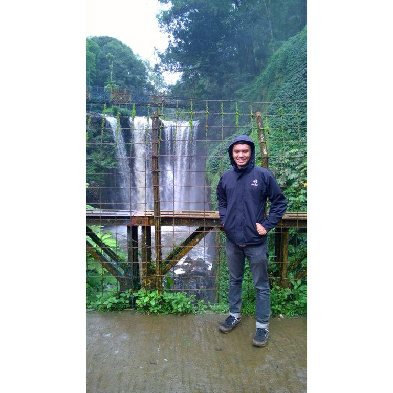 Omas Waterfall Tahura Ir Djuanda Maribaya Lembang Kab Bandung West