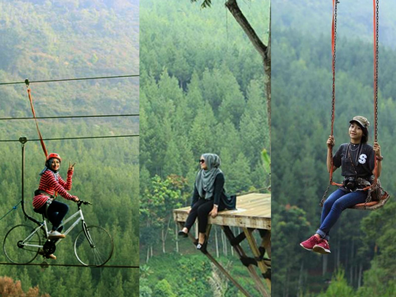 Suasana Pegunungan Ala Luar Negeri Lodge Maribaya Cibodas Lembang Kab