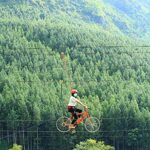 Zip Bike Lodge Maribaya Wisata Bandung Http Anekatempatkuliner Blogspot Kab