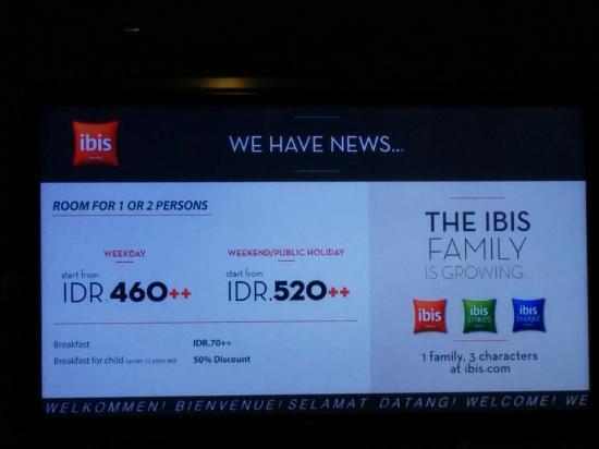 Harga Kamar Hotel Ibis Trans Studio Bandung Picture Kab