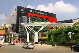 Jalan Trans Studio Bandung Menuju Tsm Alamat Mall Jl Gatot