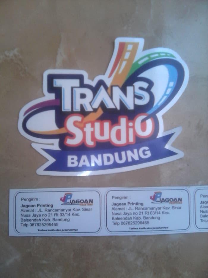 Jual Stiker Wisata Trans Studio Bandung Jagoanprinting Tokopedia Kab
