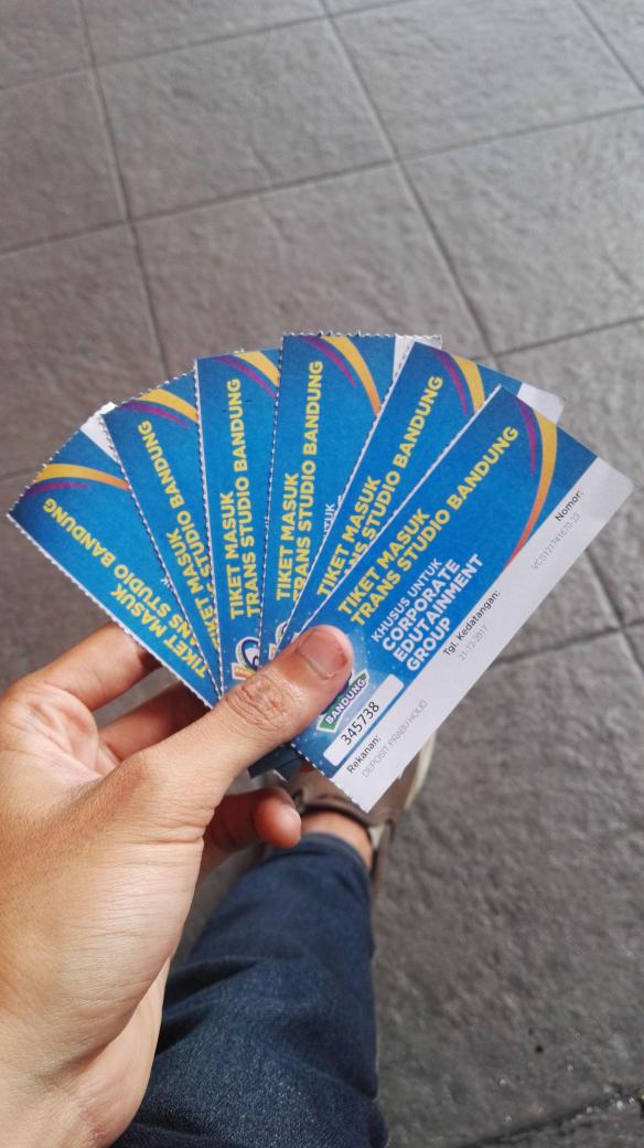 Jual Tiket Trans Studio Bandung Bintang Prabu Holiday Tokopedia Kab
