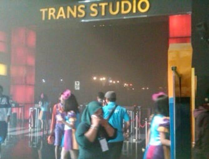 Kebakaran Trans Studio Akibat Percikan Kembang Api Seputar Jabar Wahana