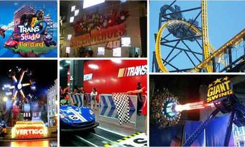 Trans Studio Bandung 20 Wahana Membuat Wow Permainan Kab