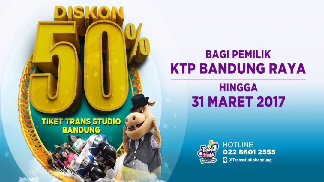 Trans Studio Bandung Diskon 50 Tiket Masuk Menunjukan Ktp Raya