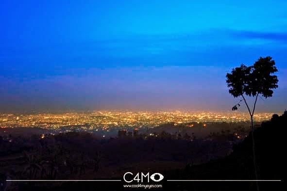 Bukit Moko Keraton Tempat Wisata Today City View Warung Daweung