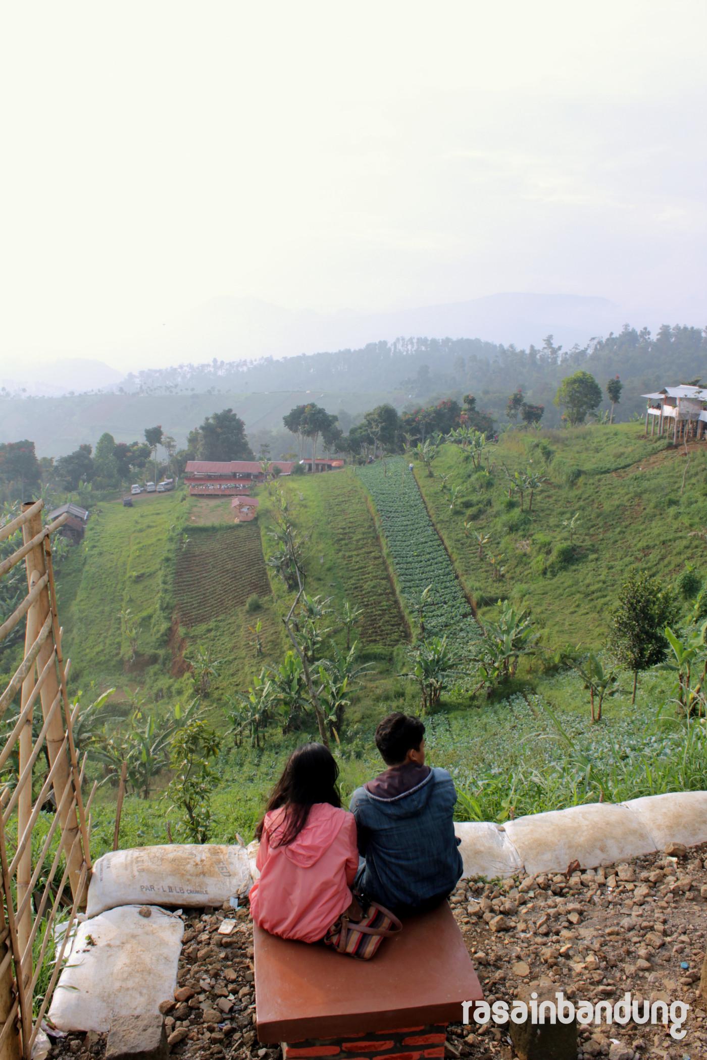 Bukit Moko Puncak Bintang Titik Tertinggi Kota Bandung Warung Daweung