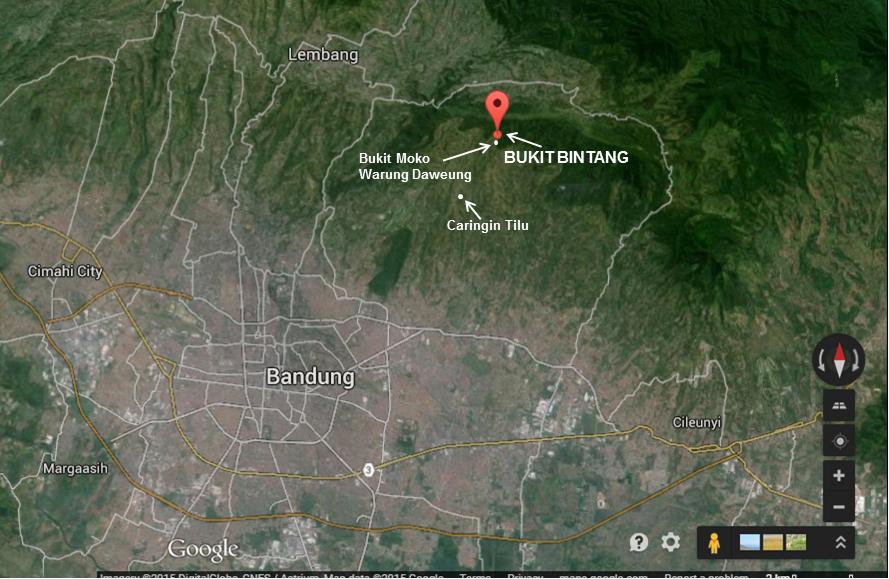 Menuju Bintang Bukit Desa Cimenyan Kabupaten Bandung Koordinat Google Maps