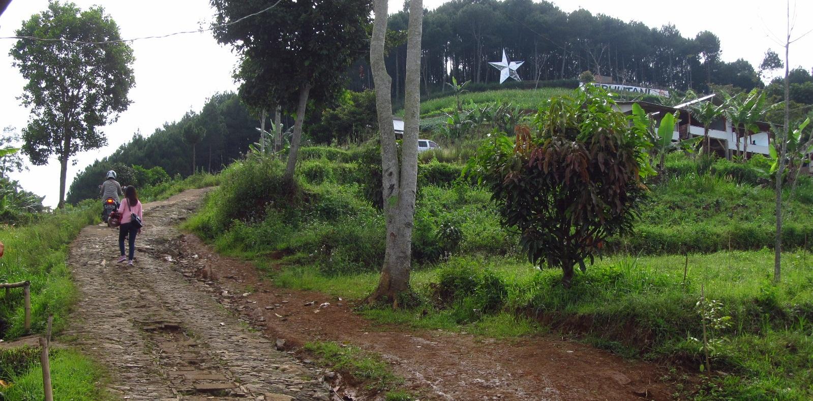 Menuju Bintang Bukit Tanjakan Akhir Moko Warung Daweung Kab Bandung