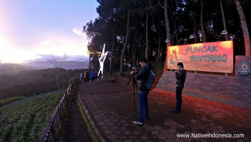 Nineth Traveling Bersantai Tempat Tertinggi Kota Bandung Puncak Bintang Moko
