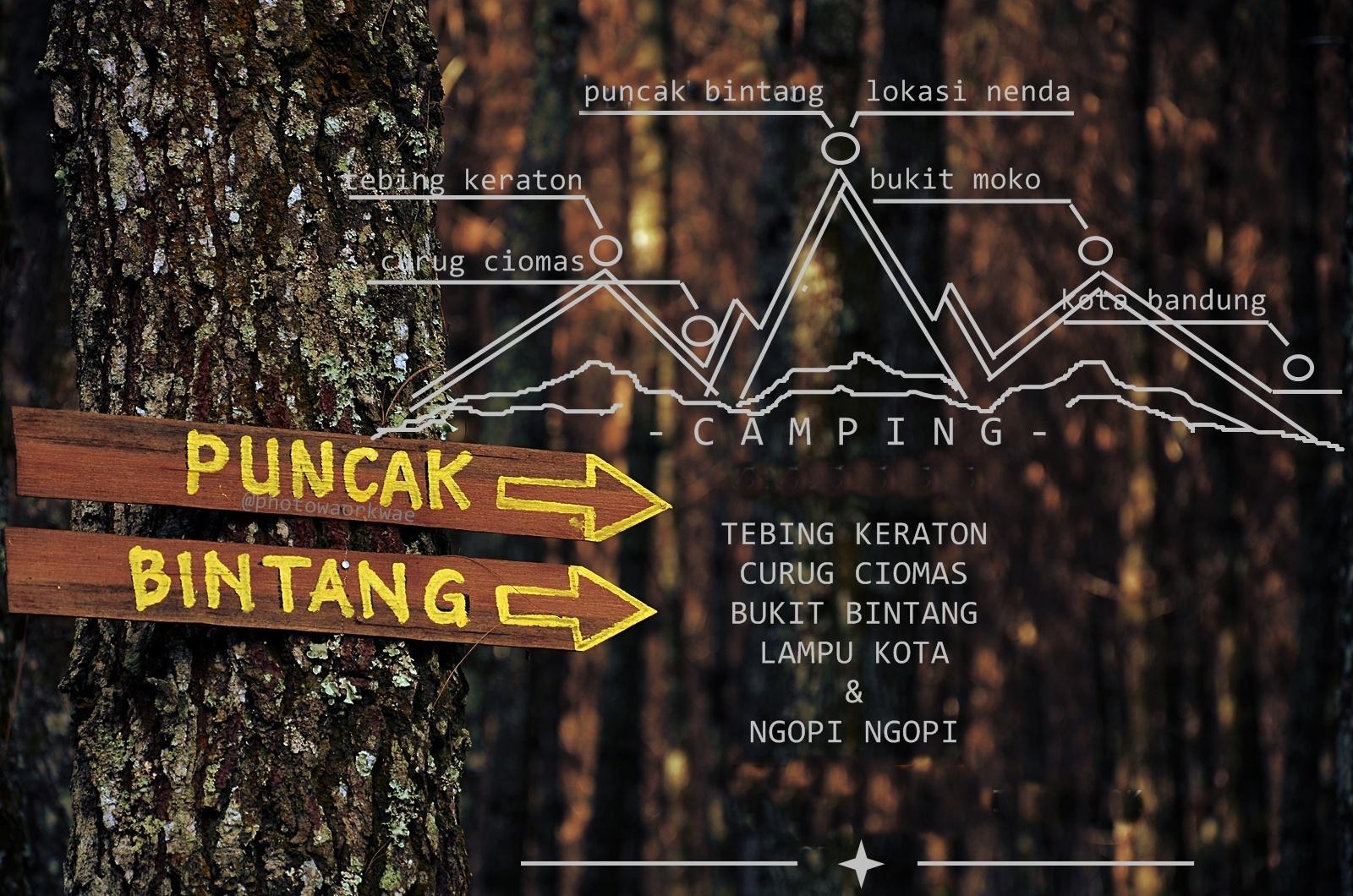 Open Trip Menikmati Malam Puncak Bintang Bandung Berpejalan Bukit Berbintang