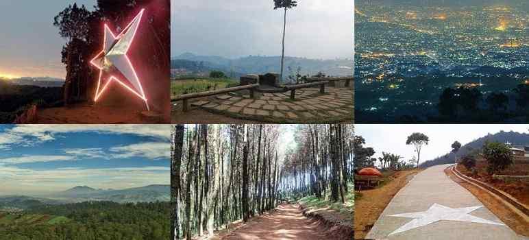 Puncak Bintang Bandung Info Tiket Masuk Lokasi Rute Jalan Warung