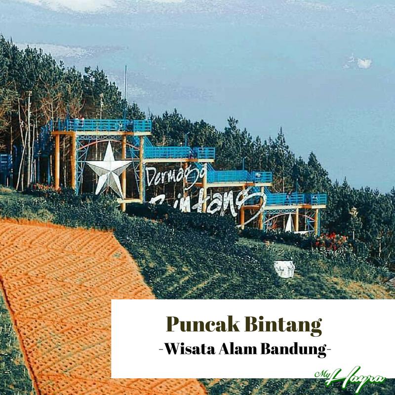 Puncak Bintang Wisata Alam Bandung Hayra Tempat Relatif Terbilang Lokasinya