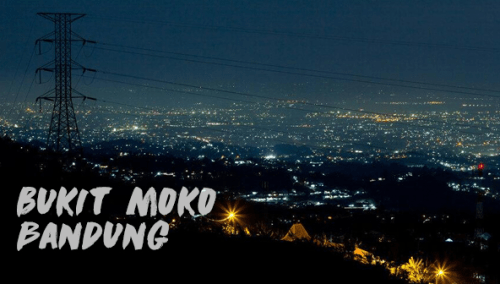 Romantisme Pemandangan Alam Milik Puncak Bintang Bukit Moko Bandung Warung