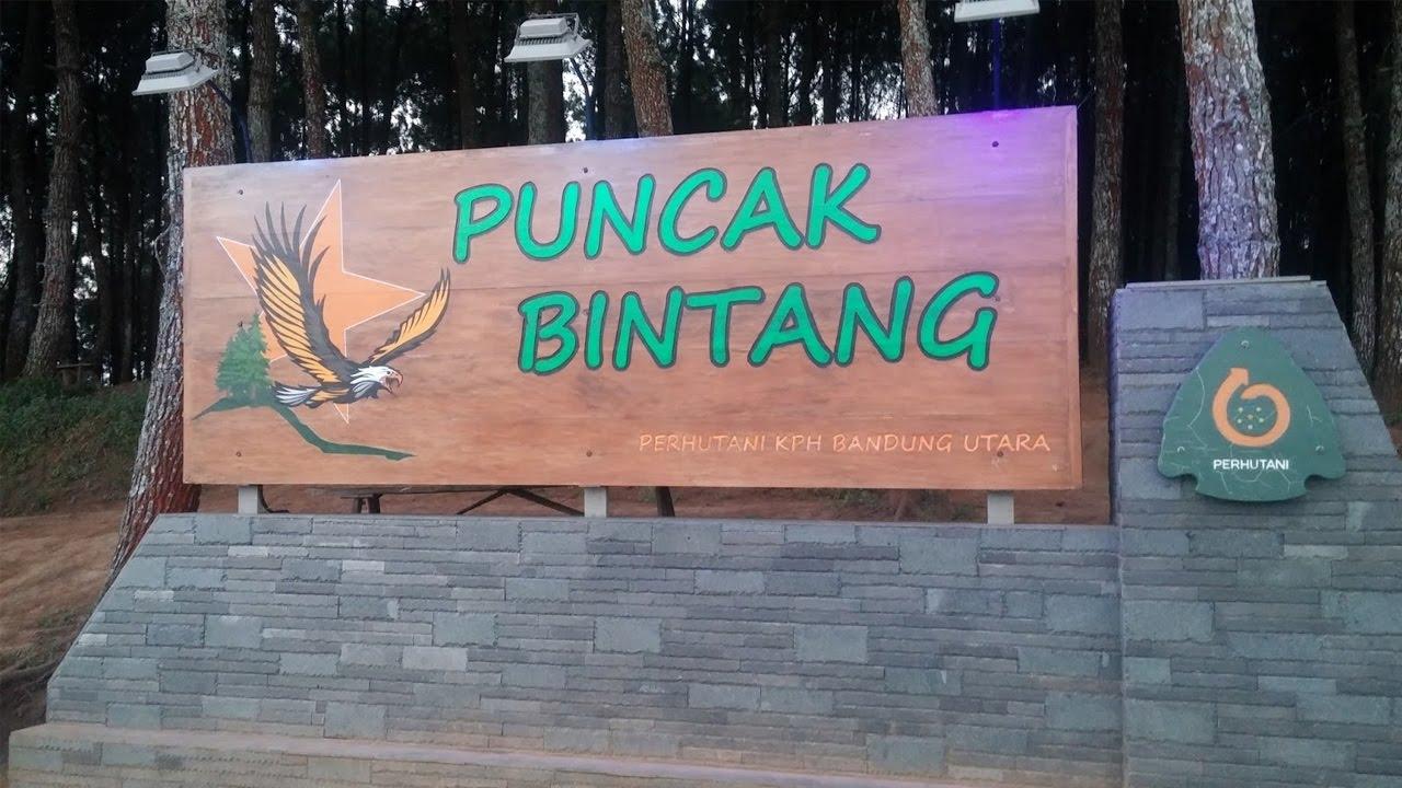 Romantisnya Pemandangan Bukit Bintang Bandung Youtube Warung Daweung Kab