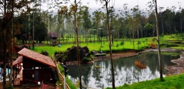 Bandung Wisata Alam Ranca Upas Wahana Rekreasi Kampung Cai Kab