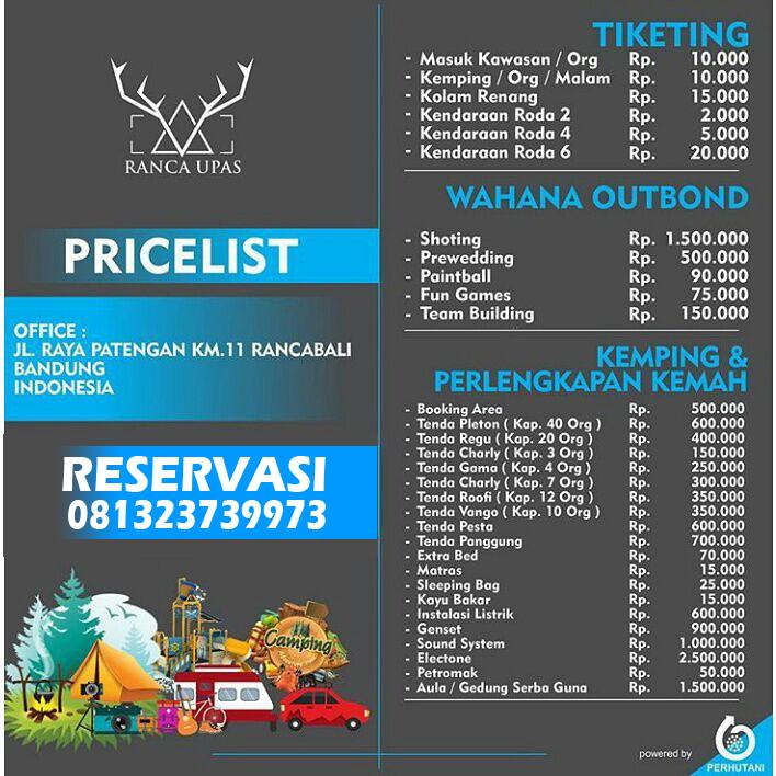 Kampung Cai Ranca Upas Bandung West Java Indonesia Tiket Masuk