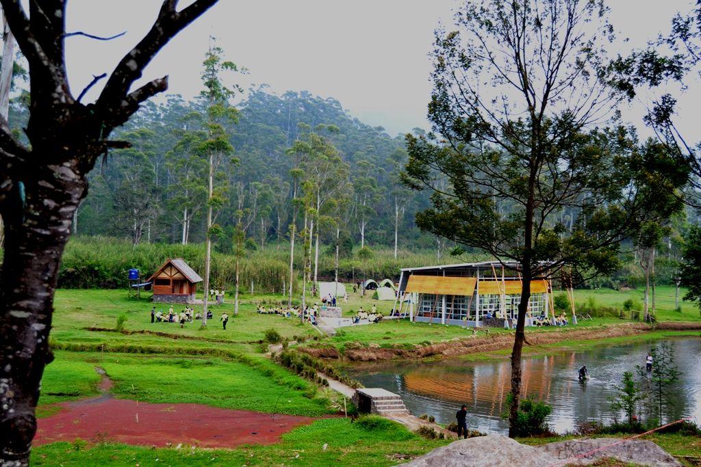 Kampung Cai Ranca Upas Menariknya Berkemah Alam Jawa Barat Wisata