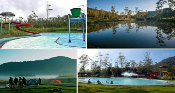 Lokasi Wisata Kampung Cai Ranca Upas Bandung Indonesia Kab