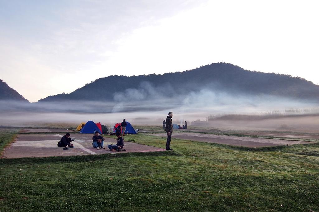 Tempat Camping Asyik Bandung Raya Infobdg Selatan Ranca Upas Wisata
