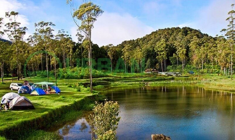 Wisata Alam Kampung Cai Ranca Upas Bandung Kab
