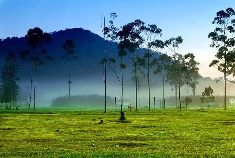 Wisata Alam Terbuka Kampung Cai Ranca Upas Bumi Perkemahan Bandung
