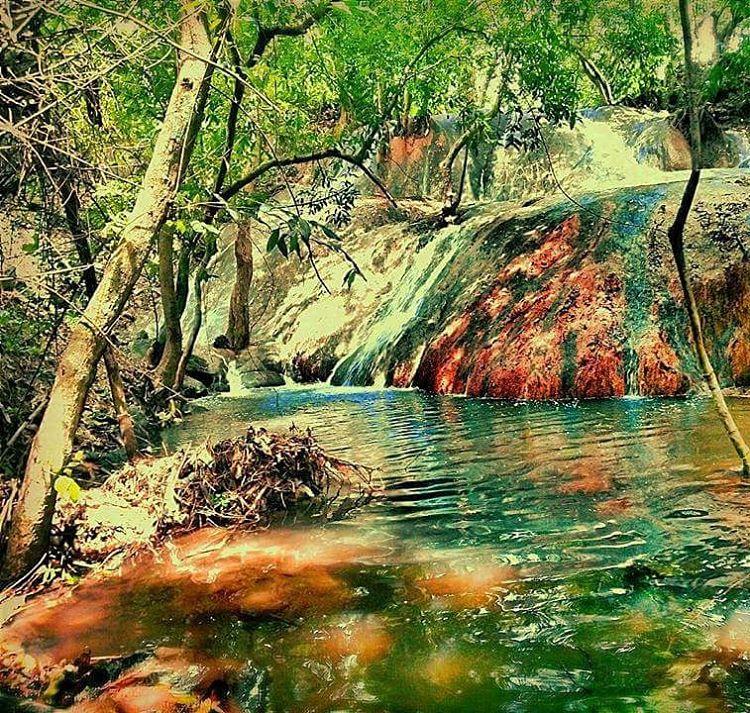 Air Terjun Batu Raja Manitan Wisata Alam Terbaru Bangkalan Kab