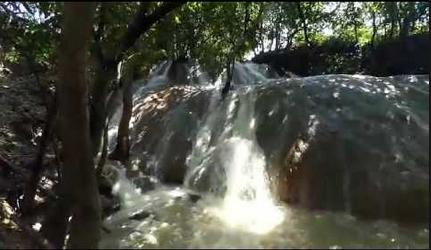 Pesona Wisata Air Terjun Manitan Batu Raja Banyubunih Galis Buat