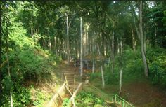 Pesona Wisata Air Terjun Manitan Batu Raja Banyubunih Galis Bukit