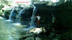 Pesona Wisata Air Terjun Manitan Batu Raja Banyubunih Galis Sungai