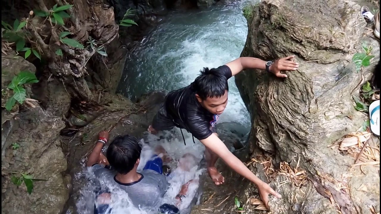 Ternyata Air Terjun Bangkalan Airnya Jernih Youtube Batu Raja Manitan