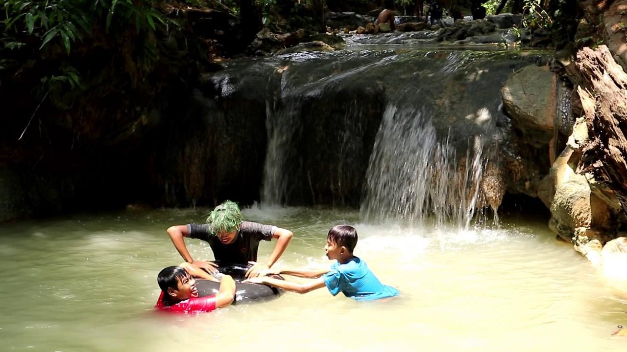 Wisata Air Terjun 3 Tingkat Bagian Ii Kecamatan Galis Youtube