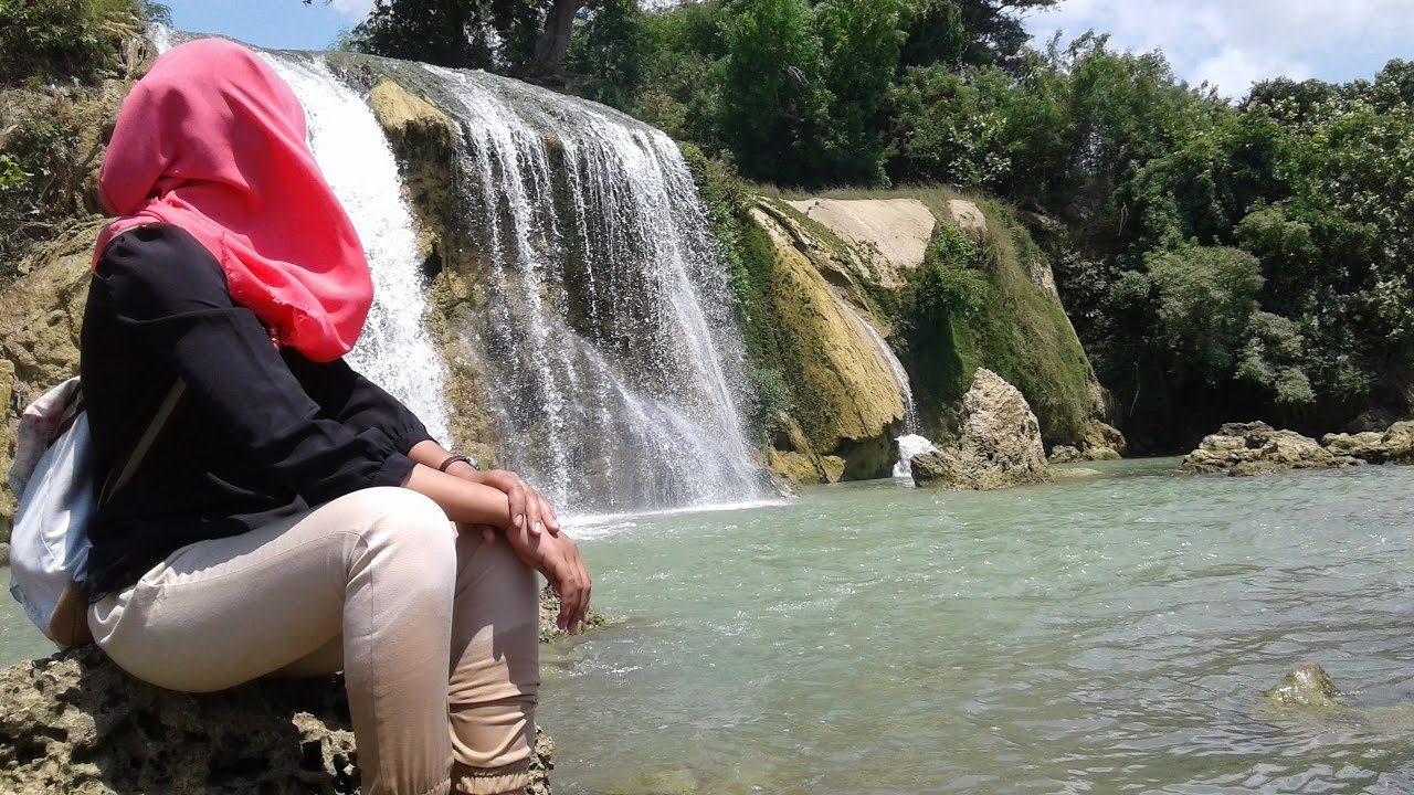 Waterfall Beach Ketapang Toroan Madura Youtube Air Terjun Kokop Kab