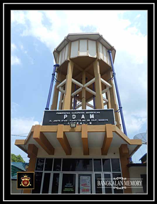 Bangkalan Memory Bangunan Sejarah Tower Pdam Benteng Erfprins Kab