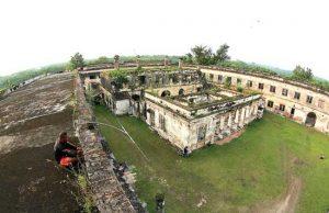 Benteng Erfprins Bangkalan Bangunana Kab