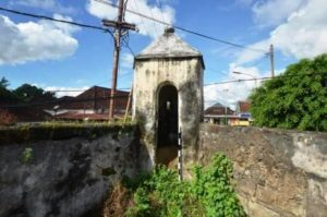 Benteng Erfprins Pejagan Balai Pelestarian Cagar Budaya Terbuat Bahan Batu