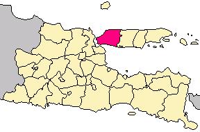 Kabupaten Bangkalan Wikipedia Bahasa Indonesia Ensiklopedia Bebas Locator Png Benteng