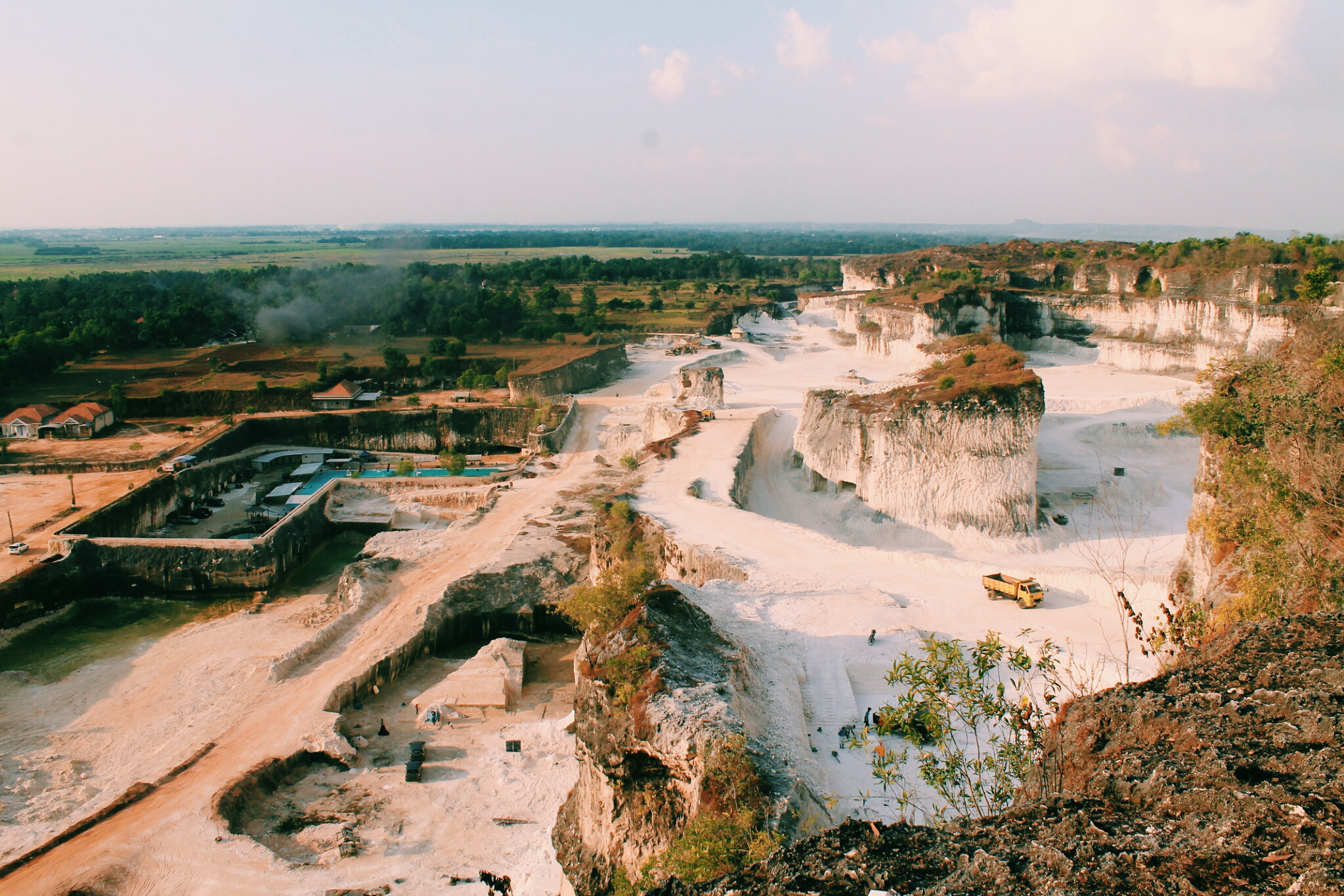 Bukit Jaddih Madura Gilang Ramadani Setiowati Pemandangan Puncak Kab Bangkalan