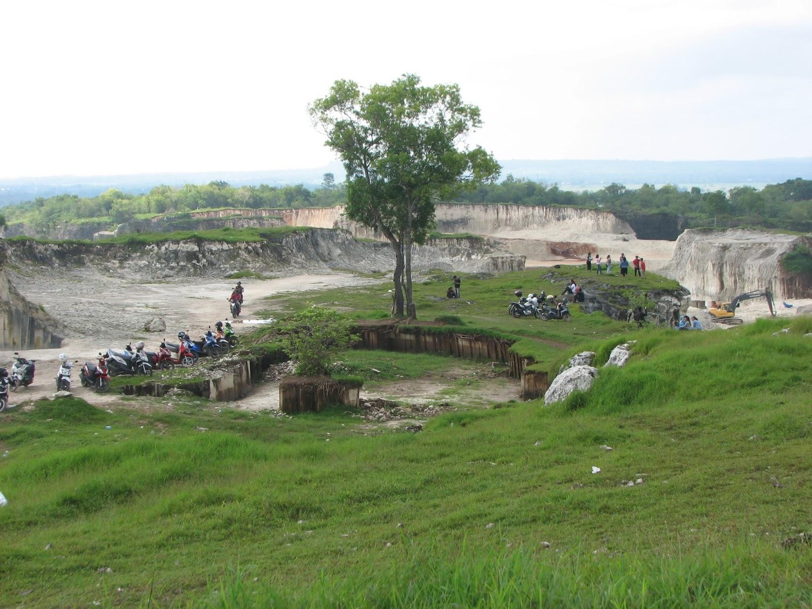 Bukit Jaddih Tebing Kapur Eksotik Bangkalan Jawa Timur Madura Kab