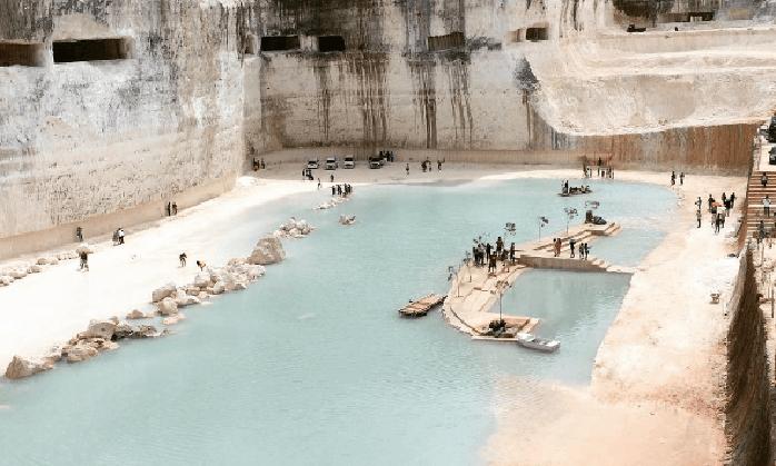 Danau Biru Bukit Jaddih Tempat Wisata Ngehits Instagenic Madura Kab