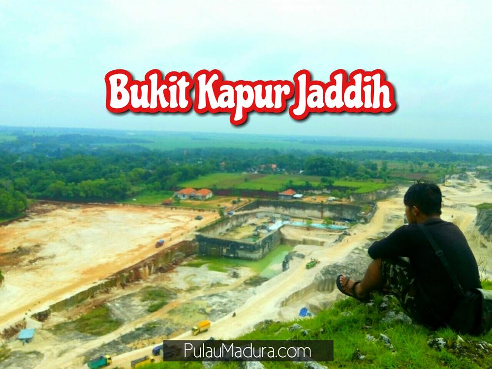 Obyek Wisata Bukit Kapur Desa Jaddih Socah Bangkalan Gerbang Madura