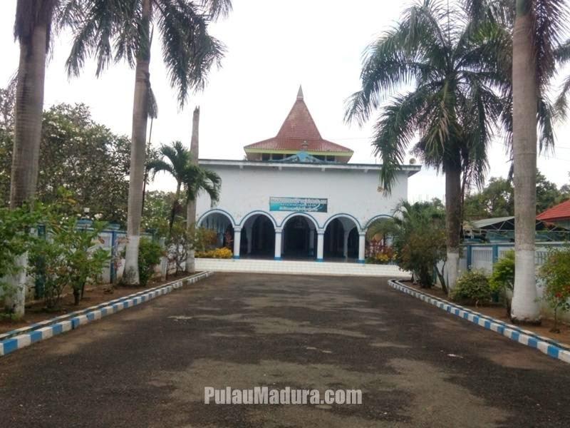 Masjid Jami Mlajah Peninggalan Kh Moh Kholil Bangkalan Gerbang Kisah