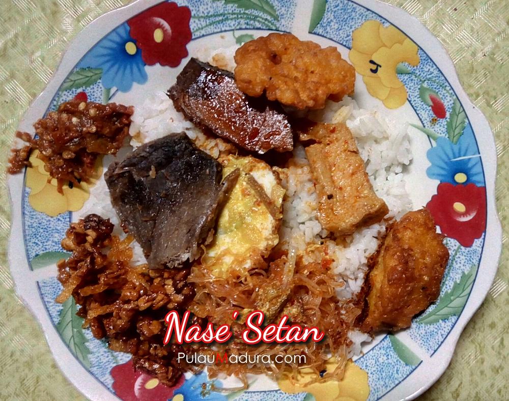 Menikmati Wisata Kuliner Malam Nasi Setan Kota Bangkalan Kolla Langgundi