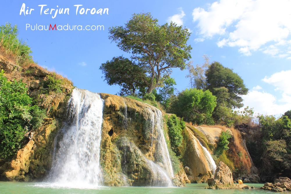 Obyek Wisata Air Terjun Toroan Kabupaten Sampang Gerbang Pulau Kolla