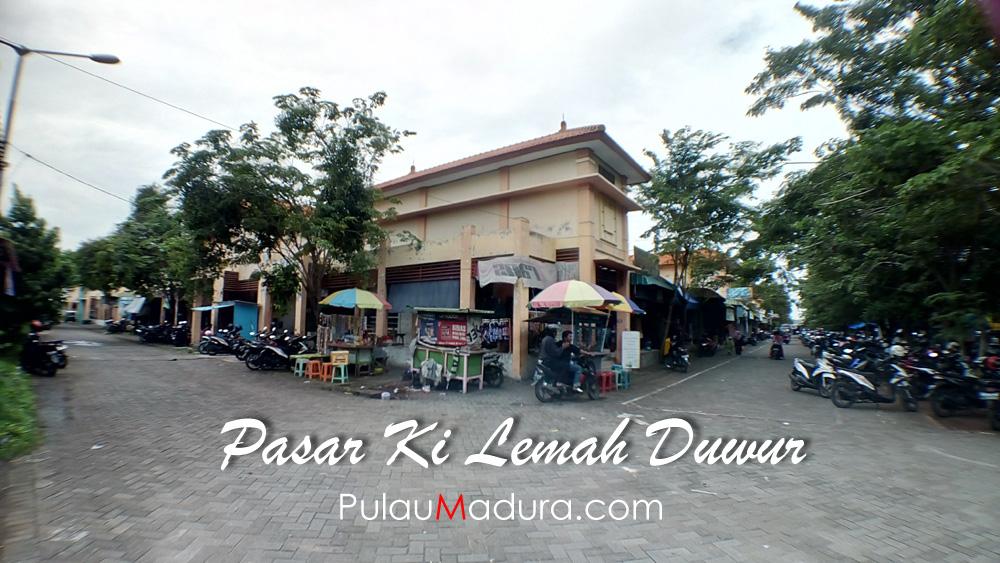 Pasar Ki Lemah Duwur Bangkalan Gerbang Pulau Madura Kolla Langgundi