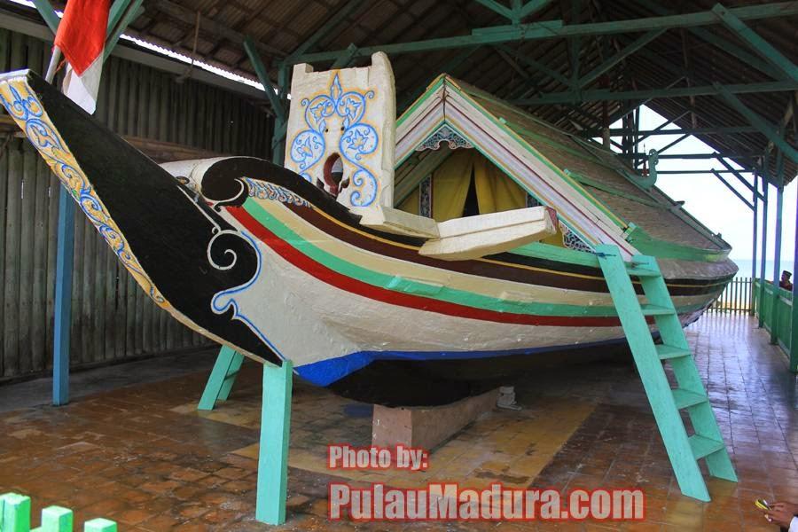 Wisata Religi Perahu Sarimuna Peninggalan Syaichona Moh Cholil Kolla Langgundi