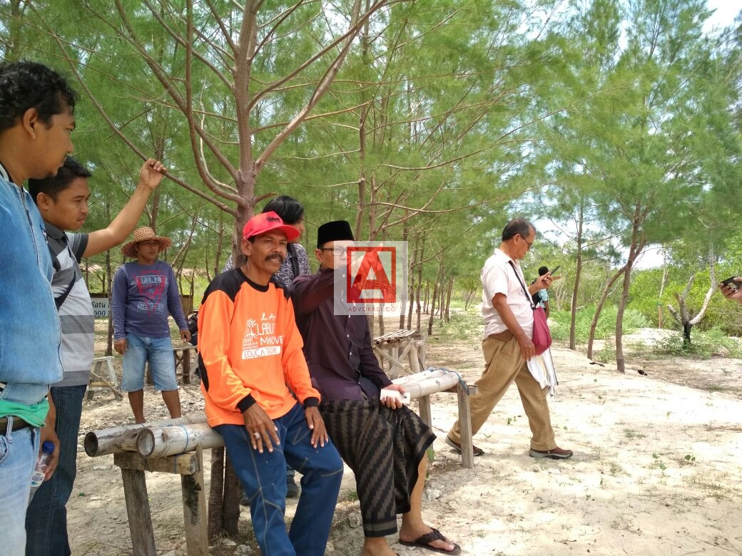 Nawardi Sidak Wisata Mangrove Bangkalan Advokasi Kopyah Hitam Anggota Dpd