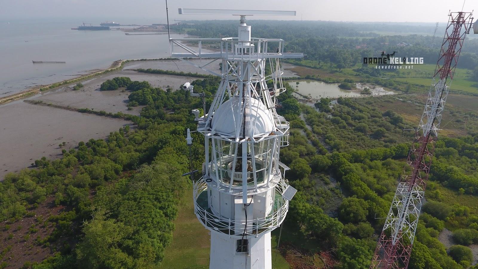 Mercusuar Zm Willem Iii Bangkalan Drone Photography Videography Jjj Kab